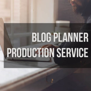 Blog Planner Production Service