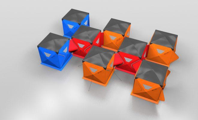 POD launches Qube quick pitch tent range