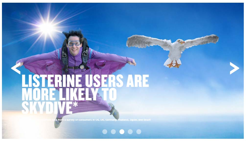 Listerine programmatic ad copy
