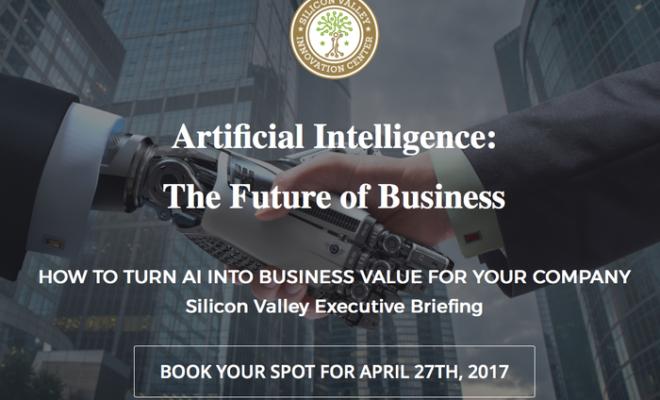 Silicon Valley Innovation Center Announces AI Executive Briefing