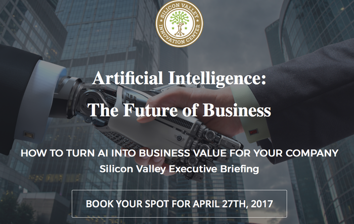 Silicon Valley Innovation Center Announces AI Executive Briefing