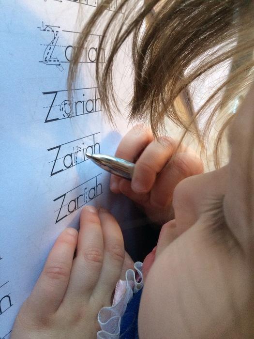 Personalised Printable Spelling Tool Helps Kids 'Write My Name'