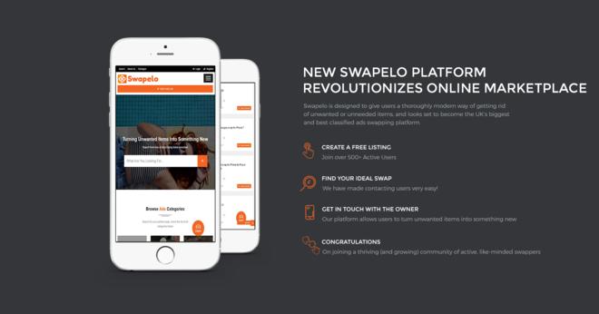 NEW SWAPELO PLATFORM REVOLUTIONIZES ONLINE MARKETPLACE