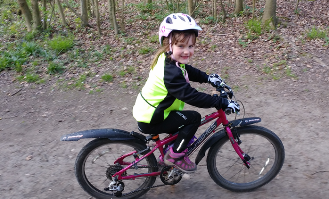 5-Year-Old Girl Set to Take on Inspirational Cycling Challenge Covering 55 Miles in a Day