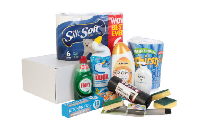 AN 'EASY' NEW WAY TO STOCK UP FOR HOUSEHOLD TASKS