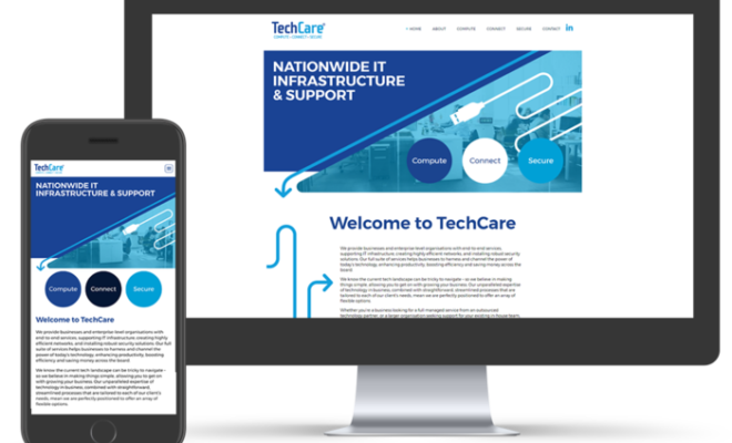 IT Experts TechCare Unveil Fresh New Brand