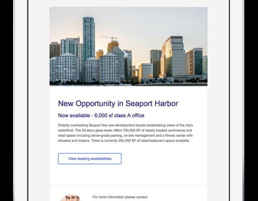 SharpLaunch announces new custom email tool