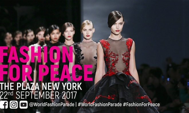 World Fashion Parade in Partnership with the UN Confirms Unique Fashion Show with a Purpose to Take Place in New York this Fall