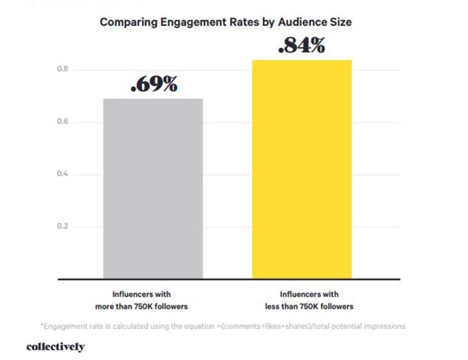 Influencer marketing engagement rates
