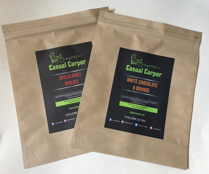 Casual Carper Announces UK's First Biodegradable Boilie Bags