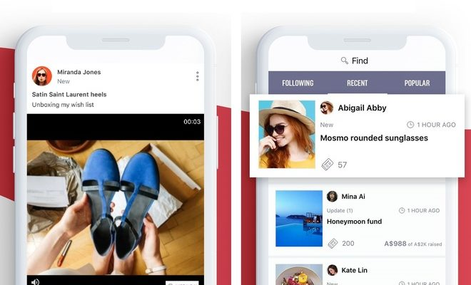 Social Wish List Sharing Platform WishSprout Rolls Out Video Sharing Functionality
