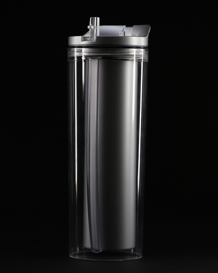 Revolutionary, patent pending water bottle designed to hold hot and cold liquids simultaneously launches on Kickstarter