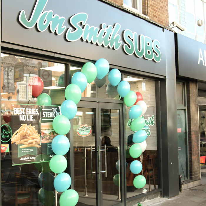 Popular US Subs Land in the UK with Hammersmith Opening of Country's First Jon Smiths Subs