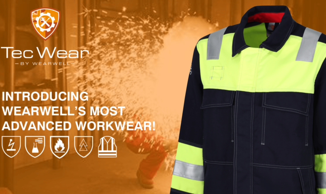 Wearwell launches advanced new arc flash protection and flame-resistant clothing range