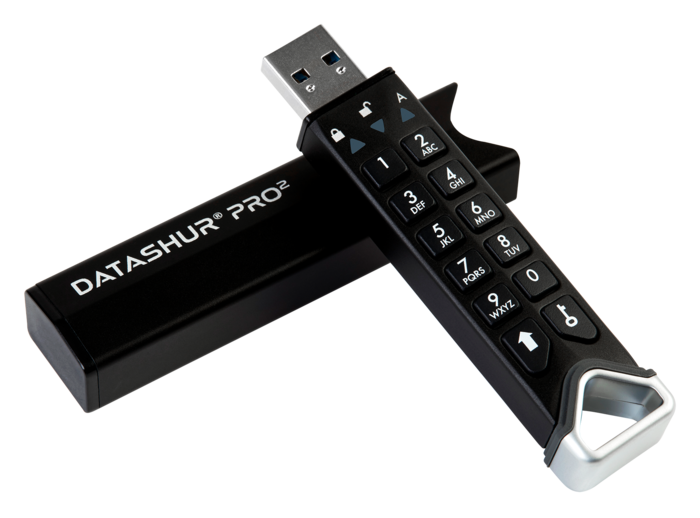 iStorage Launches datAshur PRO²: their most secure PIN authenticated, hardware encrypted USB flash drive