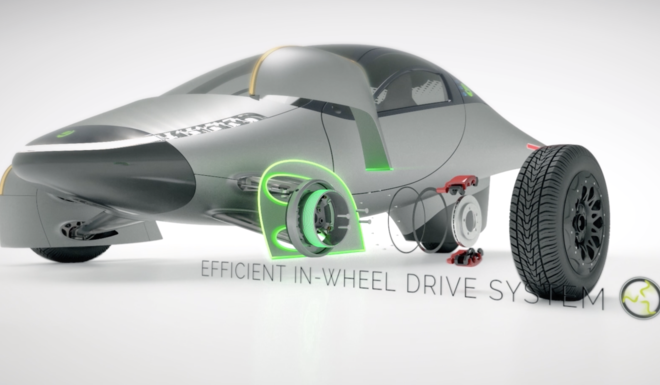 APTERA PARTNERS WITH ELAPHE FOR IN-WHEEL-MOTOR TECHNOLOGY