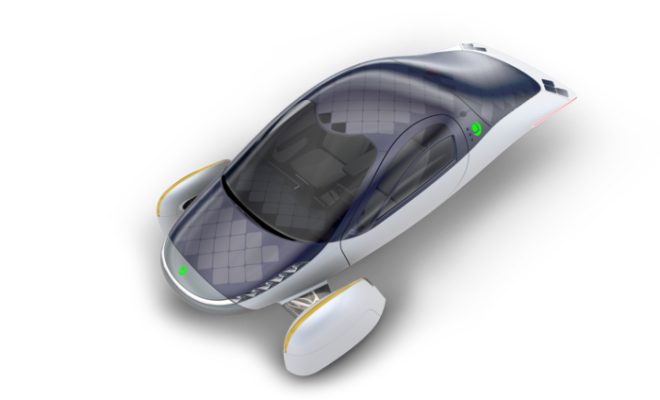 """APTERA UNVEILS WORLD'S FIRST """"NEVER CHARGE"""" ELECTRIC VEHICLE"""