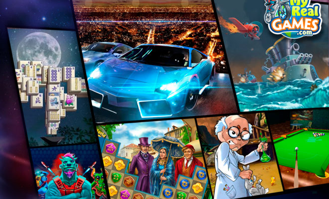MyRealGames Kicks Off Holiday Season with Sack Full of New Games