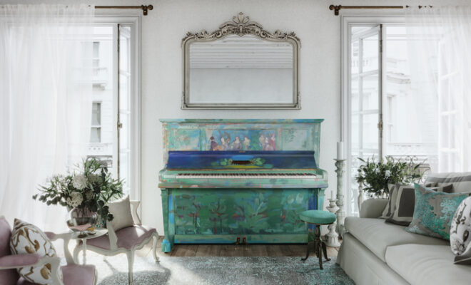 The Piano Shop Bath, Artist Annie Sloan and Textile Artist Charlotte Macmillan Join Forces to Support the NHS